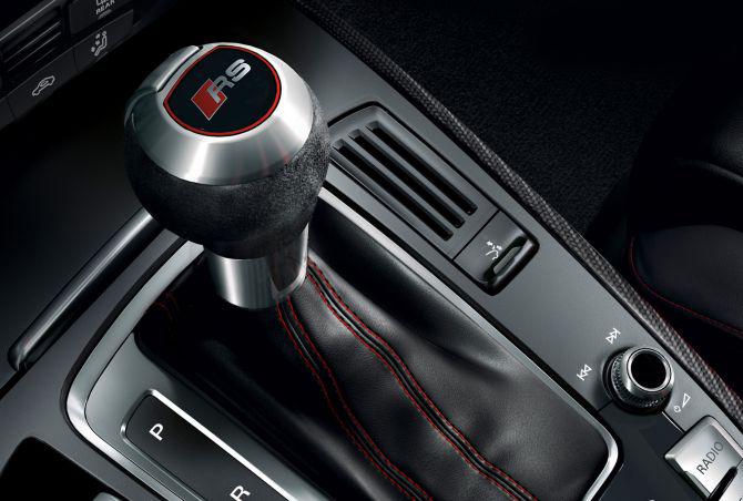 Audi RS5 interior.