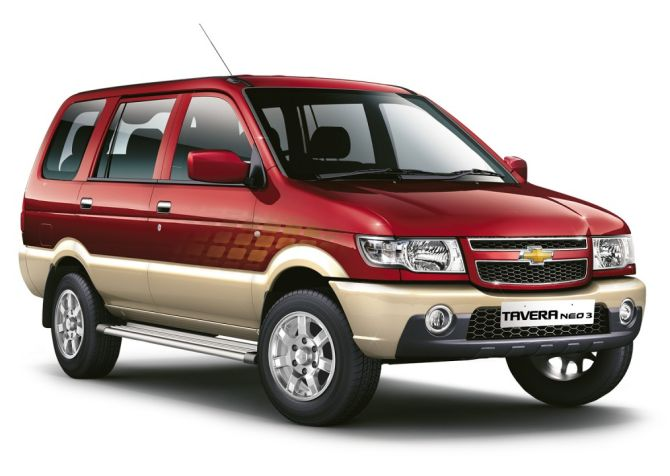 Chevrolet Tavera. GM had recalled the SUV last year.