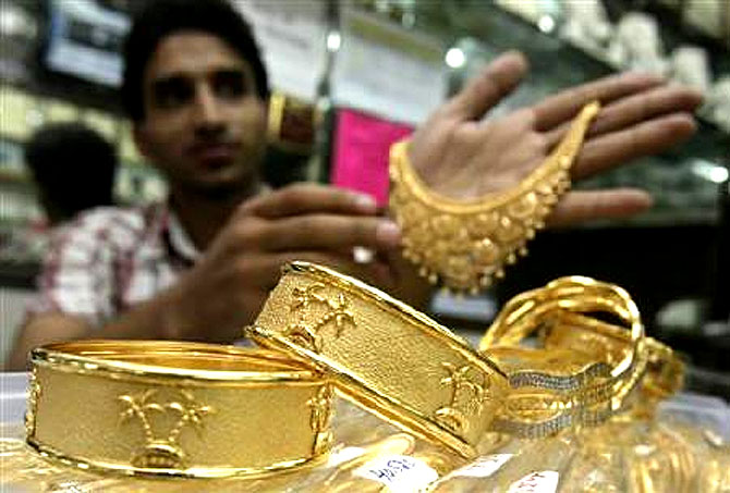 Gold imports for FY13-14 was at an all time low.