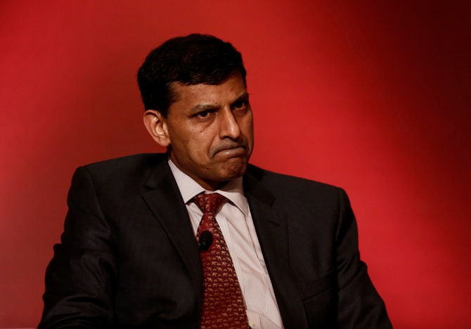 Reserve Bank of India Governor Raghuram Rajan attends a seminar organised by the University of Chicago in New Delhi March 28, 2014.