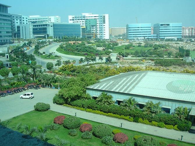 MindSpace campus, Hyderabad