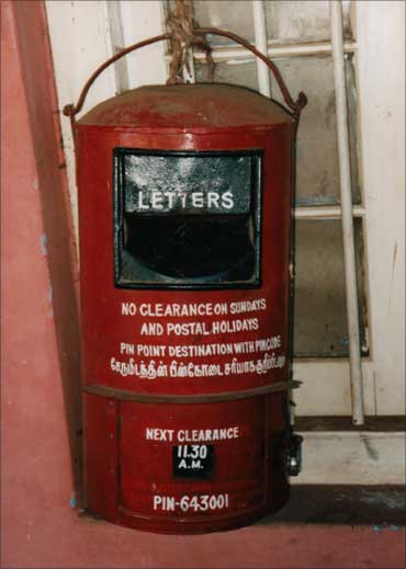 A letter box