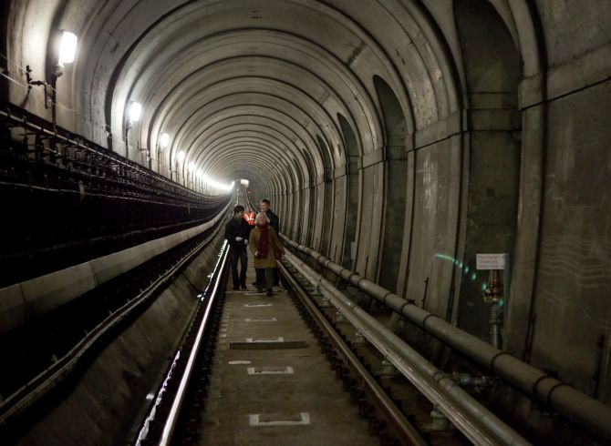 Thames Tunnel.