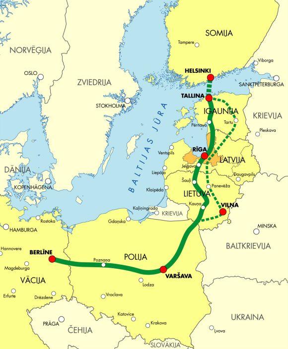 Helsinki to Tallinn Tunnel.