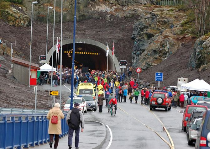 Eiksund Tunnel.