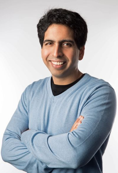 Salman Khan of Khan Academy.