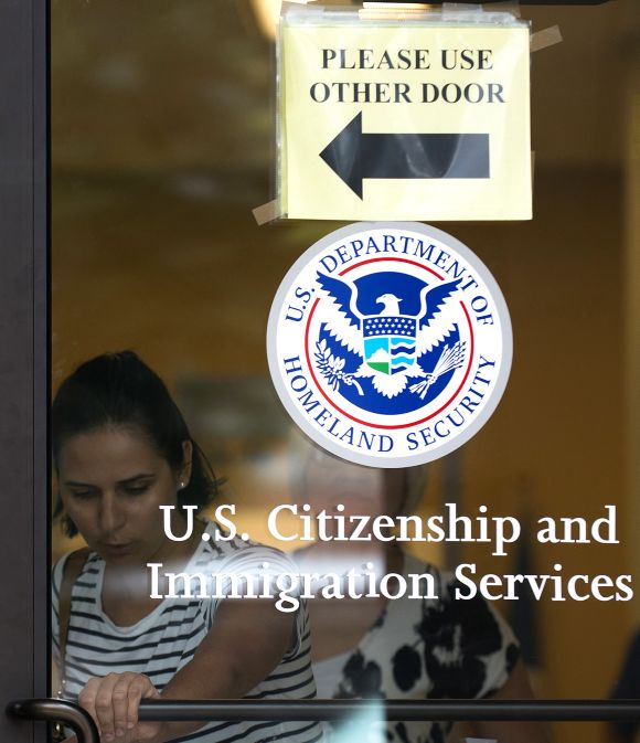 US Citizenship and Immigration Services office.