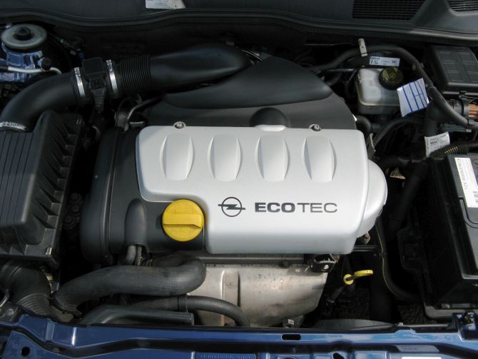 GM EcoTec engine.