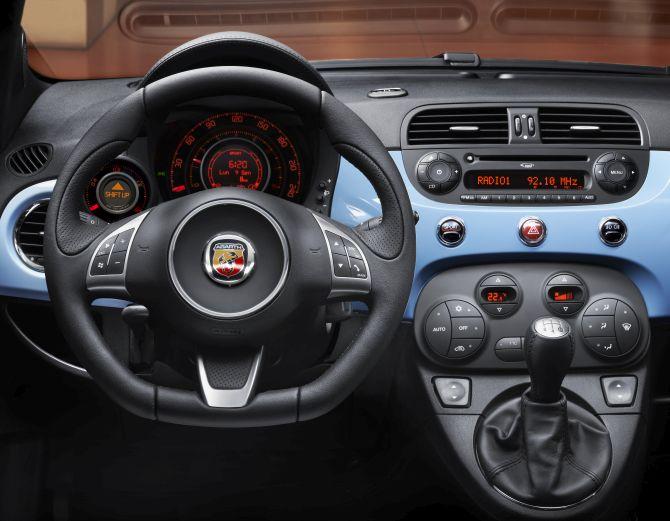 Fiat Abarth 500.