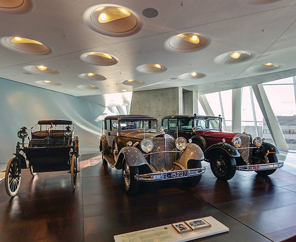 A tour of the stunning Mercedes-Benz museum
