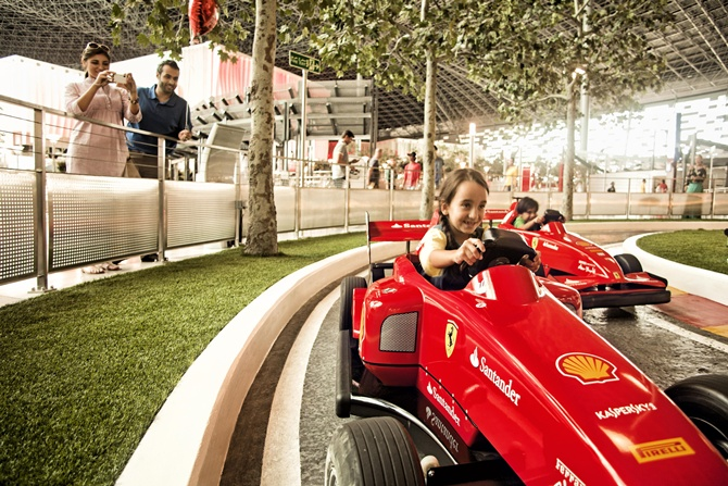 Abu Dhabi's Ferrari World