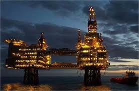 An oil basin