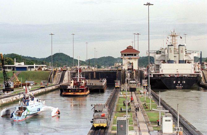 Panama Canal.