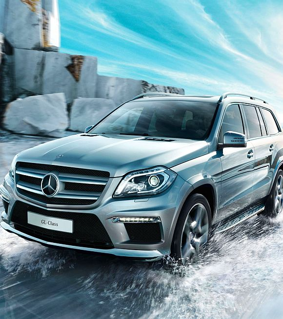 Mercedes GL 63 AMG luxury SUV.