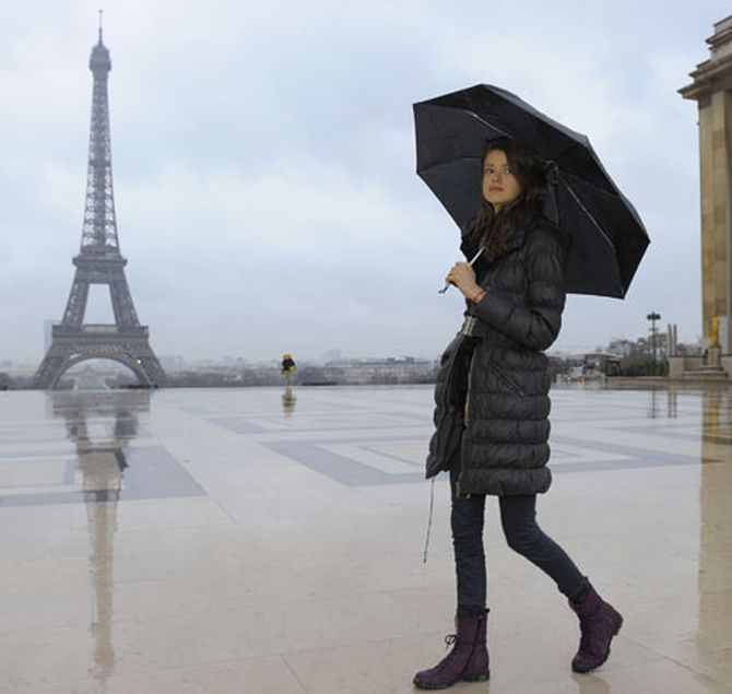 Eiffel Tower in Paris attracts tourists from world over.