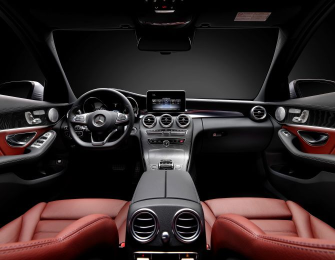 Mercedes Mercedes interior.