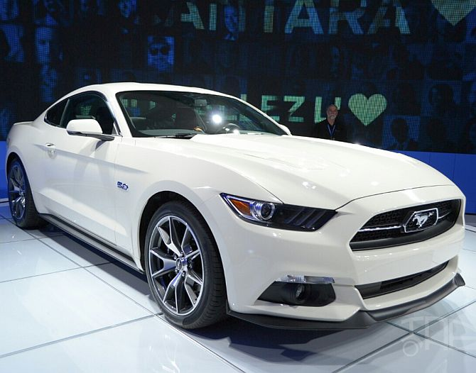 Ford Mustang limited editioon.