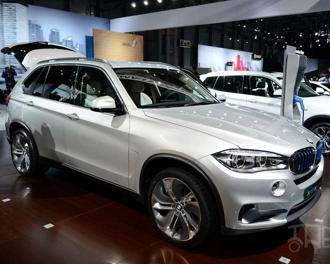 BMW Concept X5 eDrive.