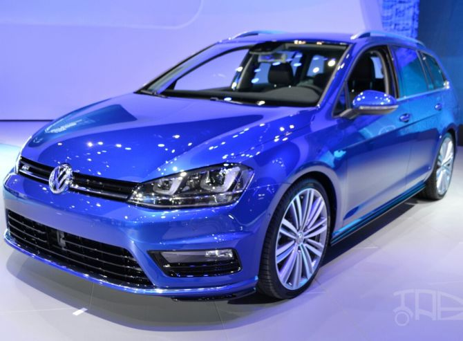 2015 VW Golf Sportwagen.
