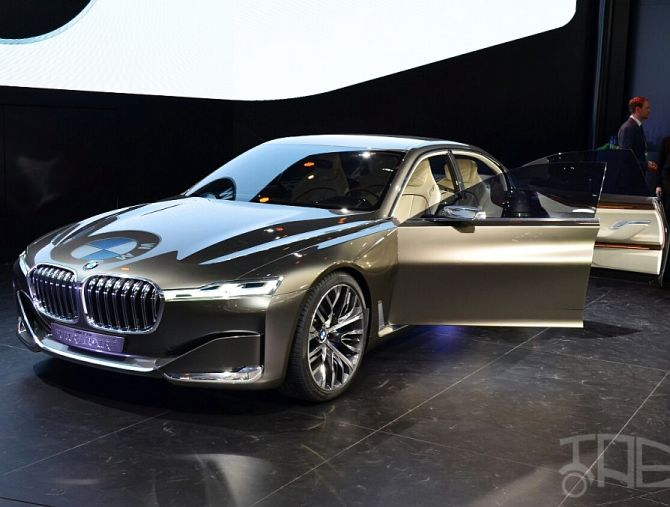 BMW Vision Future Luxury Concept.