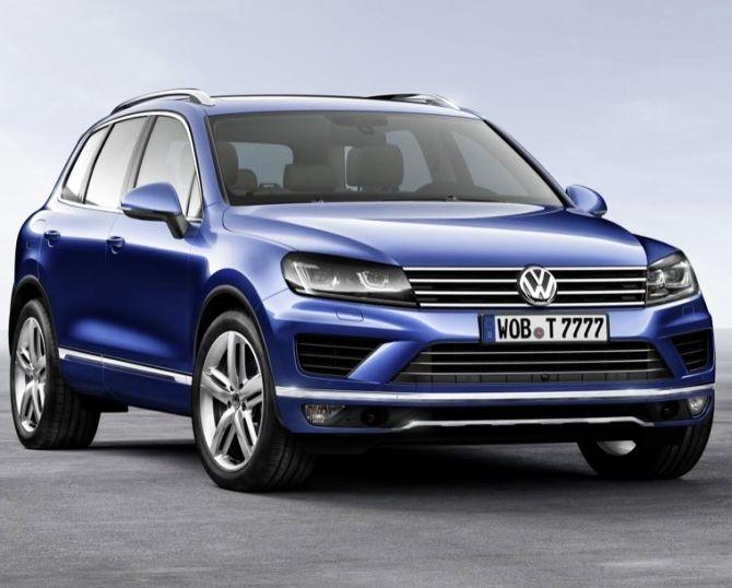 Volkswagen Touareg.