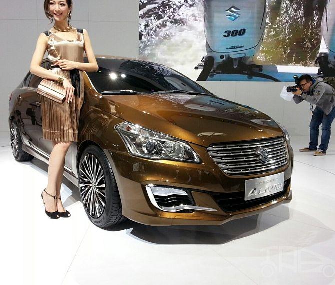 Suzuki Alivio Concept.