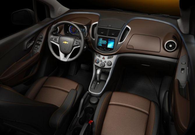 Chevrolet Trax interior.