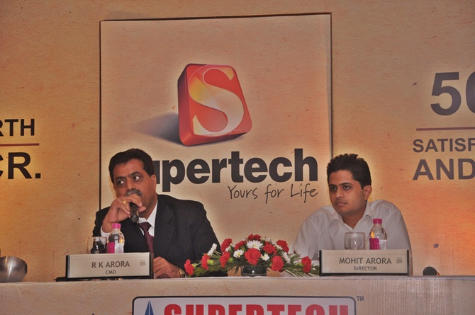 Supertech's boss: From a broker to realty baron