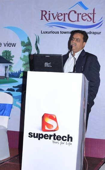 R K Arora, chairman and managing director, Supertech.