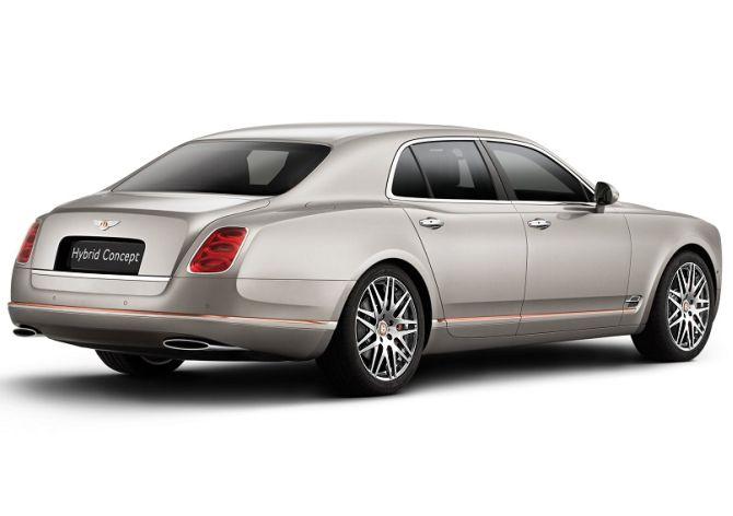 Bentley Hybrid Concept.