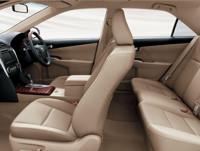 Toyota Camry interior.