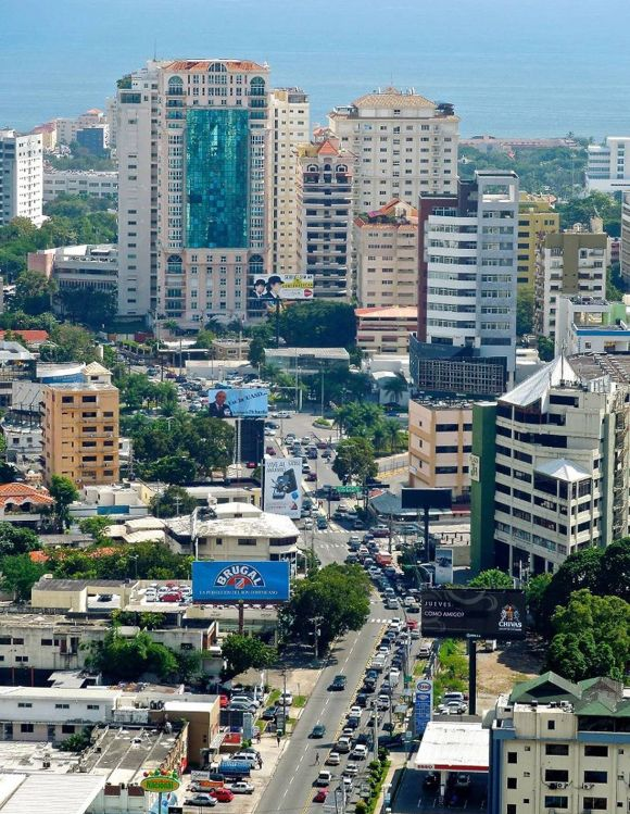 Santo Domingo skyline.