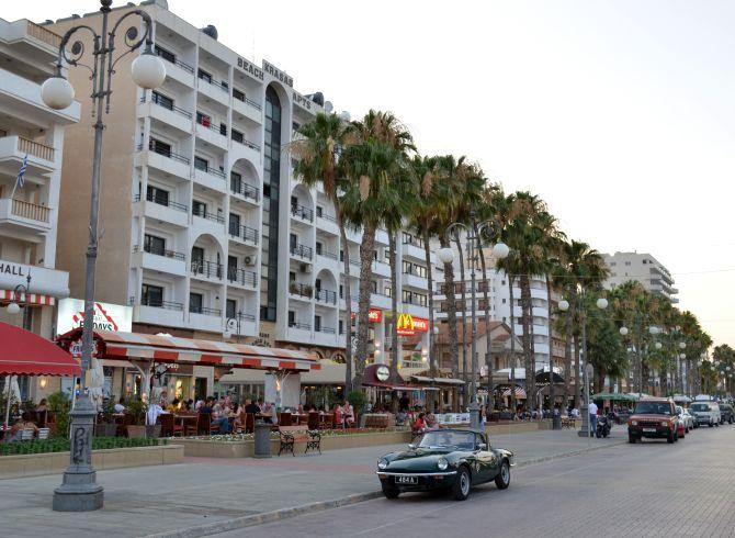 Larnaca city.