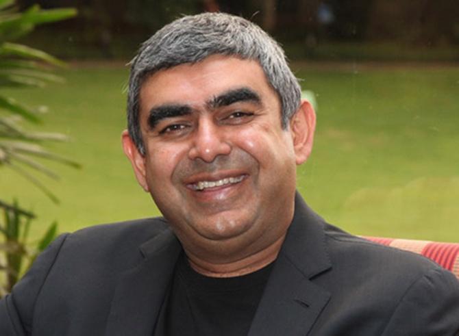 Infosys CEO Vishak Sikka