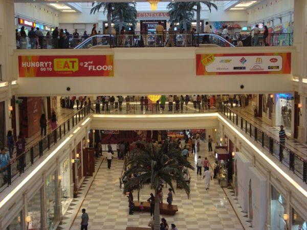 DLF Mall in New Delhi.
