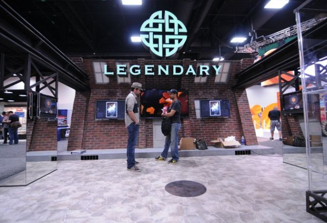 Legendary Entertainment at the San Diego Comic-Con