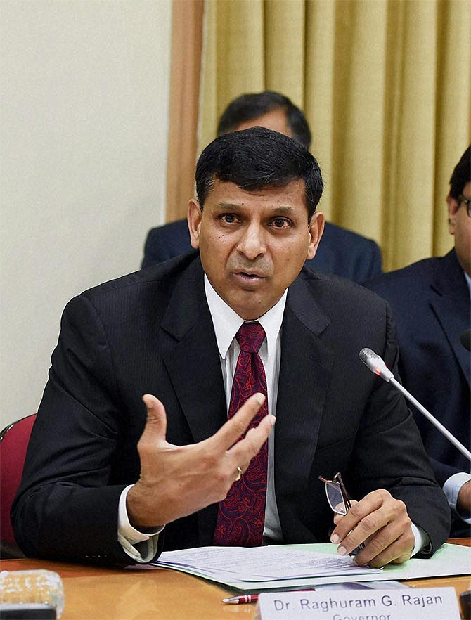 Though Raghuram Rajan seems more bullish on the economy he continues to remain cautious on the inflation front.