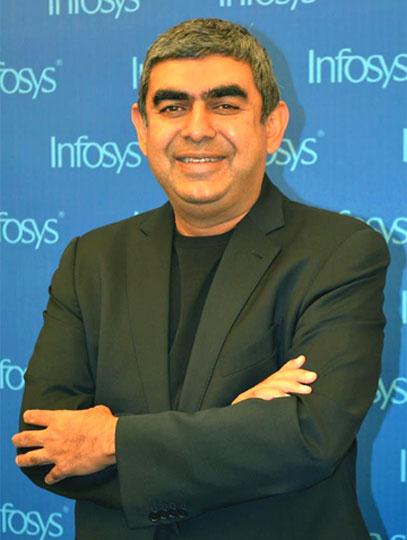 Vishal Sikka, CEO, Infosys.