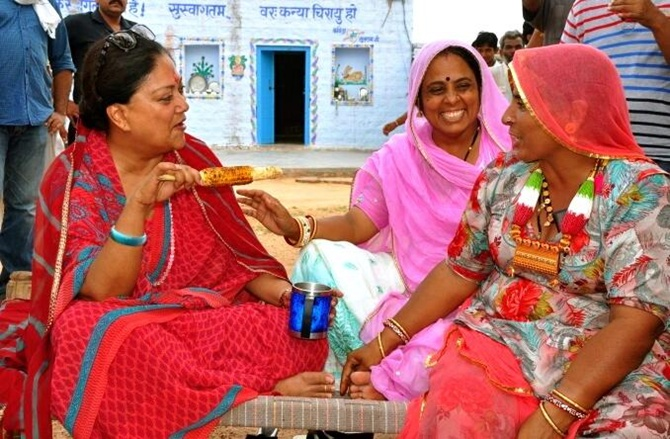 Vasundhara Raje's 'Rajasthan Model' set to be a success