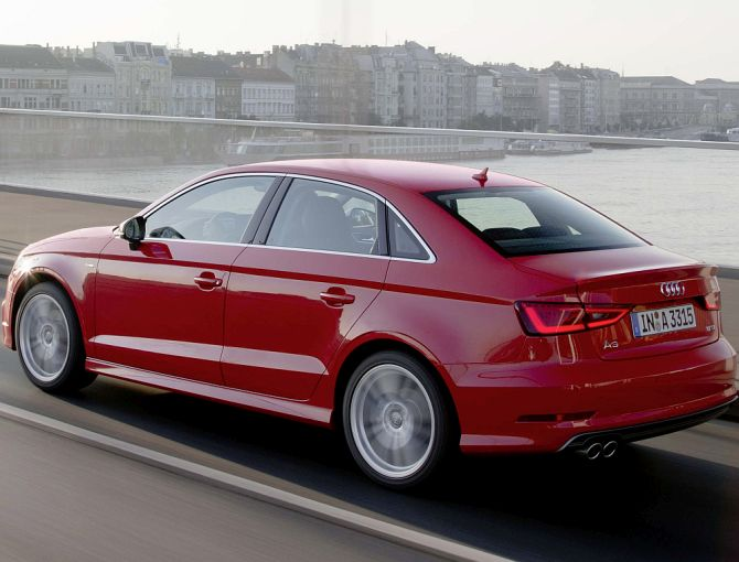 The A3 is available in both petrol and diesel variants.