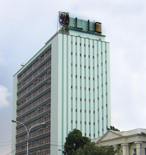 LIC Building, Anna Salai, Chennai.
