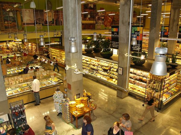 The Whole Foods Market in New York City.