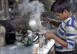 A child labourer