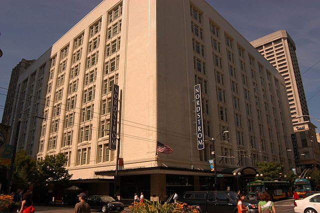Nordstrom's flagship store in Seattle.