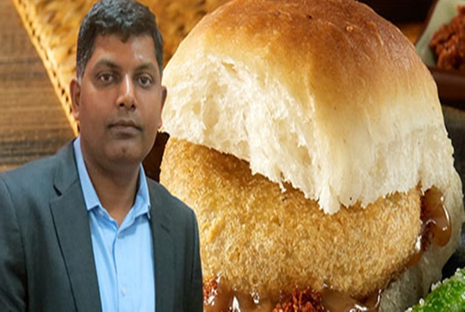 Venkatesh Iyer, Founder and chief executive officer (CEO) of Goli Vada Pav.