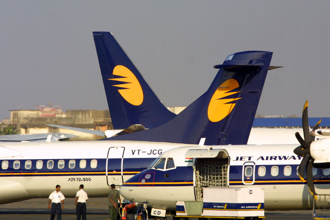 Jet Airways' domestic operations contributed about 45 per cent of its total revenue and nearly 70 percent of its pre-tax loss on a standalone basis in FY 2014.