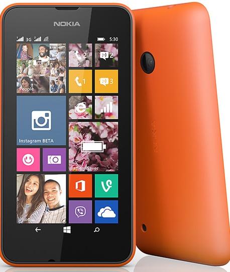 Lumia 530 dual SIM smartphone