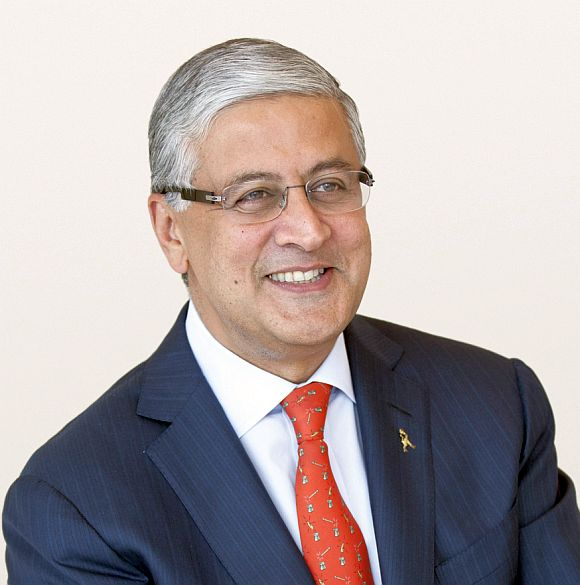 Diageo's Indian-origin CEO Ivan Menezes.