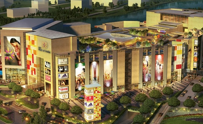 DLF's Mall of India in Noida