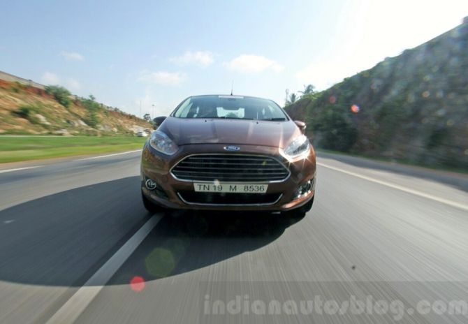 Ford Fiesta: Offers 25.01 kmpl mileage; great driving experience